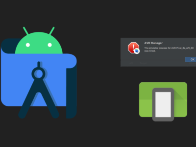 Android Emulator does not start on macOs Fix